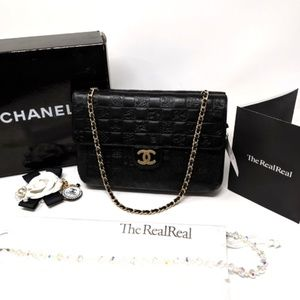 CHANEL Precious Symbols Double Flap Bag Rare